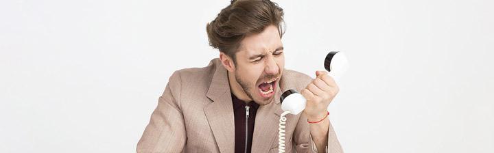 نحوه برخورد با مشتریان عصبی